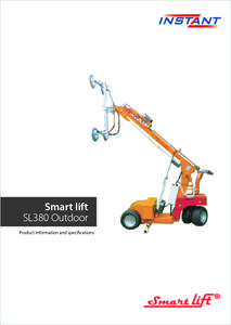 Smart lift SL380 Outdoor brochrue EN photo
